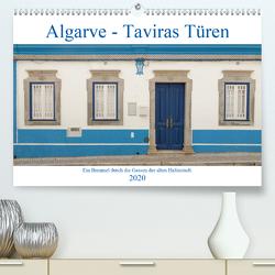Algarve – Taviras Türen (Premium, hochwertiger DIN A2 Wandkalender 2020, Kunstdruck in Hochglanz) von Rinner,  Rudolf