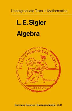 Algebra von Sigler,  Laurence Edward