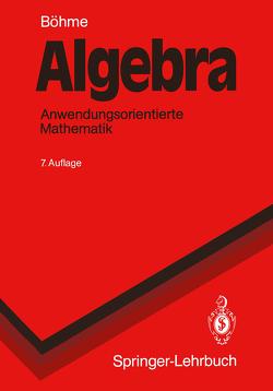 Algebra von Böhme,  Gert