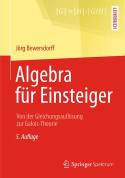 Algebra für Einsteiger von Bewersdorff,  Jörg