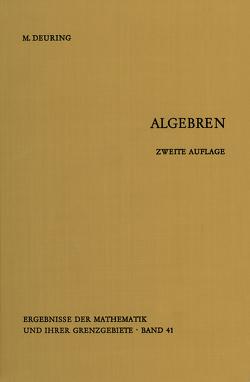 Algebren von Deuring,  Max