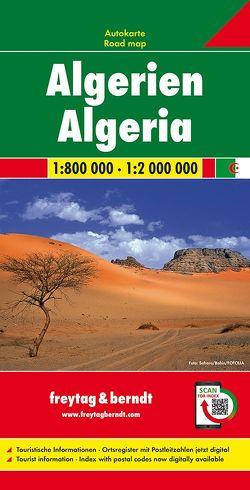 Algerien, Autokarte 1:800.000-1:2.000.000 von Freytag-Berndt und Artaria KG