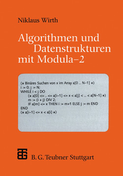 Algorithmen und Datenstrukturen mit Modula — 2 von Wirth,  Niklaus