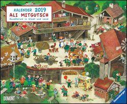 Ali Mitgutsch 2019 – Wimmelbilder – DUMONT Kinder-Kalender – Querformat 52 x 42,5 cm – Spiralbindung von DUMONT Kalenderverlag, Mitgutsch,  Ali