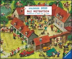 Ali Mitgutsch 2020 – Wimmelbilder – DUMONT Kinder-Kalender – Querformat 52 x 42,5 cm – Spiralbindung von DUMONT Kalenderverlag, Mitgutsch,  Ali