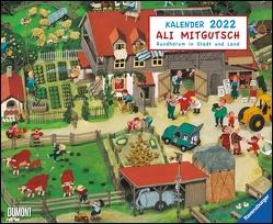 Ali Mitgutsch 2022 – Wimmelbilder – DUMONT Kinder-Kalender – Querformat 52 x 42,5 cm – Spiralbindung von Mitgutsch,  Ali