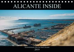 ALICANTE INSIDE – Monatskalender über die Stadt Alicante (Tischkalender 2019 DIN A5 quer) von HauGe