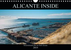 ALICANTE INSIDE – Monatskalender über die Stadt Alicante (Wandkalender 2019 DIN A4 quer) von HauGe