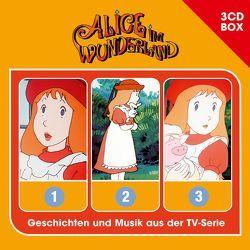 Alice im Wunderland – 3CD Hörspielbox von Lewis,  Carol