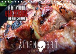 ALIEN-BBQ 2020 (Tischkalender 2020 DIN A5 quer) von Christian