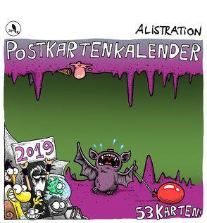 Alistration Postkartenkalender 2019 von Pfefferle,  Alexander