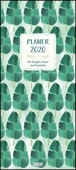 All about green 2020 – Planer mit variabler Spaltenzahl – Format 22 x 49,5 cm von DUMONT Kalenderverlag
