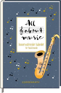 All about Music von Sander,  Gesa