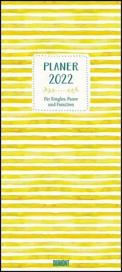 All about yellow 2022 – Planer mit variabler Spaltenzahl – Format 22 x 49,5 cm von Vidal Peiró,  Sara