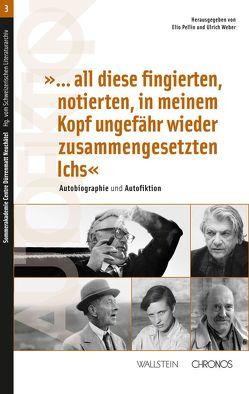 """""""…all diese fingierten, notierten, in meinem Kopf ungefähr wieder zusammengesetzten Ichs"""" von Pellin,  Elio, Weber,  Ulrich"""