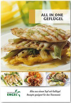 All in one Geflügel – Rezepte geeignet für den Thermomix von Kochstudio Engel, Möhrlein-Yilmaz,  Marion