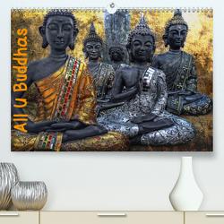 All U Buddhas (Premium, hochwertiger DIN A2 Wandkalender 2021, Kunstdruck in Hochglanz) von G. Pinkawa,  Joachim