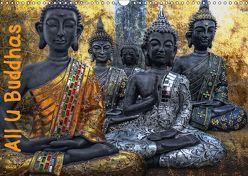 All U Buddhas (Wandkalender 2018 DIN A3 quer) von G. Pinkawa,  Joachim