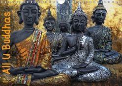 All U Buddhas (Wandkalender 2018 DIN A4 quer) von G. Pinkawa,  Joachim