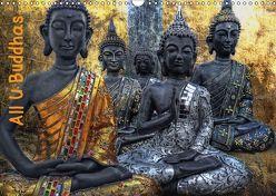 All U Buddhas (Wandkalender 2019 DIN A3 quer) von G. Pinkawa,  Joachim