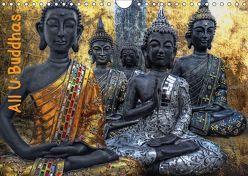 All U Buddhas (Wandkalender 2019 DIN A4 quer) von G. Pinkawa,  Joachim