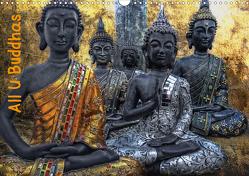 All U Buddhas (Wandkalender 2021 DIN A3 quer) von G. Pinkawa,  Joachim