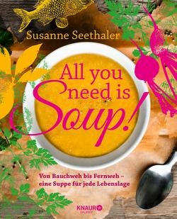 All you need is soup von Seethaler,  Susanne