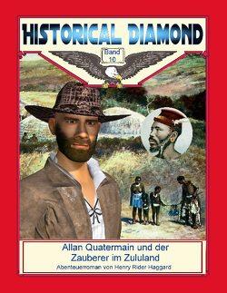 Allan Quatermain und der Zauberer im Zululand von Haggard,  Henry Rider, Sedlacek,  Klaus-Dieter