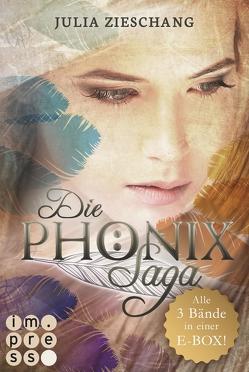 Alle Bände in einer E-Box! (Die Phönix-Saga ) von Zieschang,  Julia