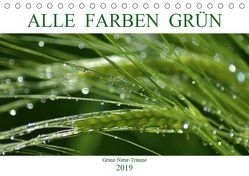 Alle Farben Grün (Tischkalender 2019 DIN A5 quer) von Fotokullt, Kull,  Isabell