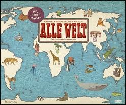 Alle Welt 2020 – Landkarten-Kalender von DUMONT– Kinder-Kalender – Querformat 58,4 x 48,5 cm von DUMONT Kalenderverlag, Mizielinska,  Aleksandra, Mizielinska,  Daniel