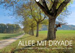 ALLEE MIT DRYADE (Wandkalender 2020 DIN A3 quer) von fru.ch