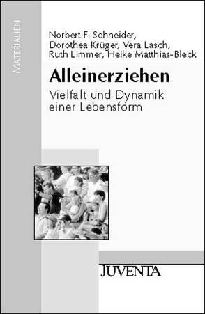 Alleinerziehen von Krüger,  Dorothea, Lasch,  Vera, Limmer,  Ruth, Matthias-Bleck,  Heike, Schneider,  Norbert F.