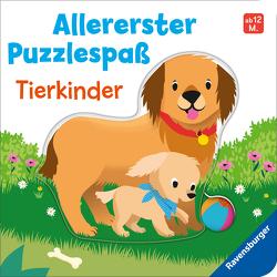 Allererster Puzzlespaß: Tierkinder von Grimm,  Sandra, Pop,  Charlie