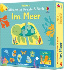 Allererstes Puzzle & Buch: Im Meer von Baggott,  Stella, Oldham,  Matthew