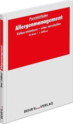 Allergenmanagement von Kraus,  Dr. Markus, Schlösser,  Jürgen