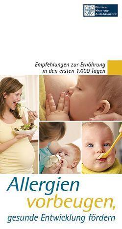 Allergien vorbeugen, gesunde Entwicklung fördern