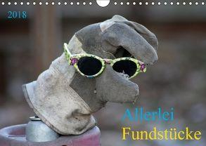 Allerlei Fundstücke (Wandkalender 2018 DIN A4 quer) von SchnelleWelten