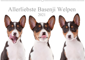 Allerliebste Basenji Welpen 2021 (Wandkalender 2021 DIN A2 quer) von Joswig,  Angelika