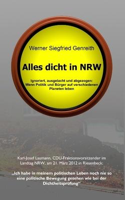Alles dicht in NRW von Genreith,  Siegfried