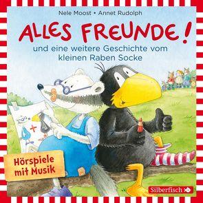 Alles Freunde!, Alles wieder gut! (Der kleine Rabe Socke) von Delay,  Jan, Moost,  Nele, Rudolph,  Annet