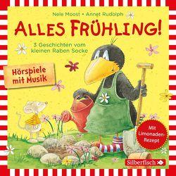 Alles Frühling!: Alles Freunde!, Alles wächst!, Alles gefärbt! (Kleiner Rabe Socke ) von Delay,  Jan, Diverse, Moost,  Nele, Rohrbeck,  Oliver, Rudolph,  Annet