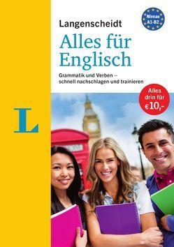 """Langenscheidt Alles für Englisch – """"3 in 1"""": Kurzgrammatik, Grammatiktraining und Verbtabellen von Brugger,  Sigrid, Galster,  Gabi, Walther,  Lutz"""