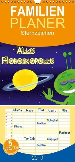 Alles Horoskopolus – Familienplaner hoch (Wandkalender 2019 <strong>21 cm x 45 cm</strong> hoch) von Tricomix