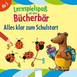 Alles klar zum Schulstart. Lernspielspaß mit dem Bücherbär von Bertrand,  Fréderic, Reimers,  Silke
