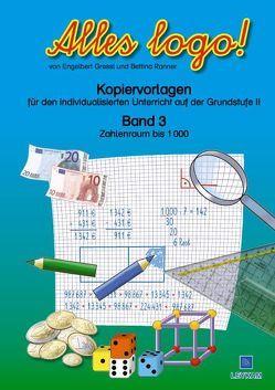 Alles logo! – Kopiervorlagen von Gressl,  Engelbert, Ranner,  Bettina