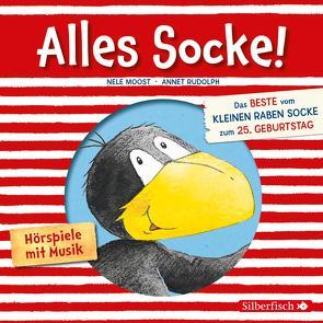 Alles Socke! (Alles erlaubt?, Alles Eis!, Alles gefunden!, Alles zu spät!, Alles echt wahr!, Alles nass!, Alles Bitte-danke!, Alles verlaufen!) (Der kleine Rabe Socke) von Diverse, Moost,  Nele, Rohrbeck,  Oliver, Rudolph,  Annet