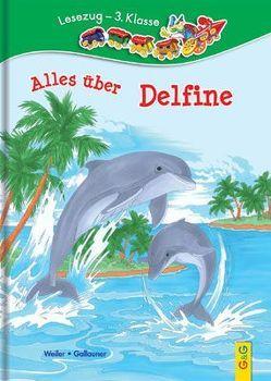 LESEZUG/3. Klasse: Alles über Delfine von Gallauner,  Lisa, Picha,  Angela, Weiler,  Tatjana