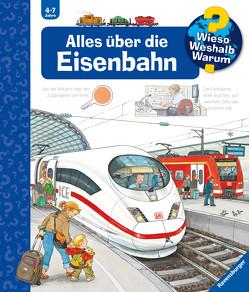 Alles über die Eisenbahn von Mennen,  Patricia, Metzger,  Wolfgang