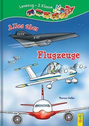 LESEZUG/3. Klasse: Alles über Flugzeuge von Haller,  Theresa, Lohr,  Stefan
